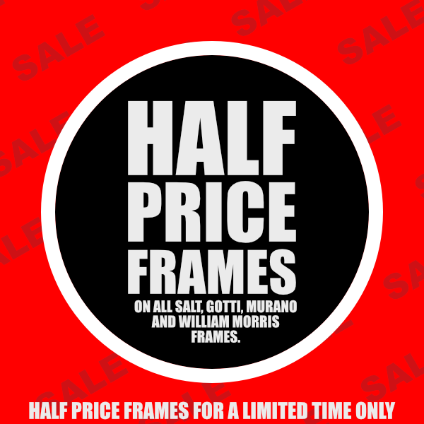 Half Price Frame Offer