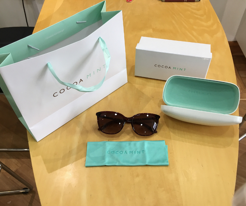 Cocoa Mint Sunglasses Competition Package